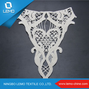 100 % Cotton Lace Water-Soluble off White Dresses Lace pictures & photos