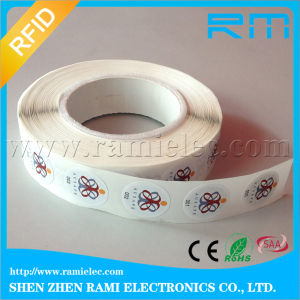 13.56MHz/UHF Passive Programable RFID Sticker NFC Tag Printi Logo RFID Label for Library pictures & photos
