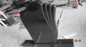 Wholesale Super Jet Absolutely Black Hebei Black Granite Monument Tombstones pictures & photos