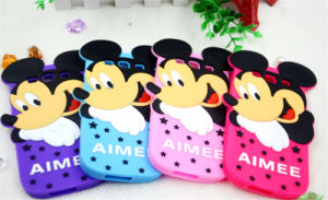 Mickey Silicone Phone Case for iPhone Case Protective Shell J1ace J2prime J5 J7 Prime (XSD-060) pictures & photos