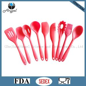 Hot Sale Silicone Kitchen Spatula & Butter Knife Ss14 pictures & photos