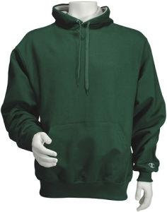 Cheap Men′s Wholesale Plain Green Hoodie (H035W) pictures & photos