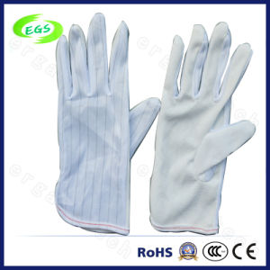 PVC ESD Antistatic Dotted Glove, Working Gloves (EGS-25) pictures & photos