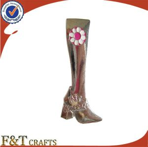 Hot Custom Cute Boots Shoes Shaped Metal Lapel Pin Badge (FTBD9011J) pictures & photos