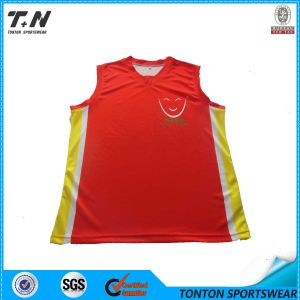 Custom 100%Polyester Basketball Jersey, Basketball Uniforms pictures & photos