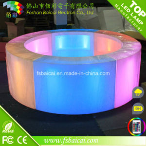 LED Bar Table Illuminated LED Bar Counter Design