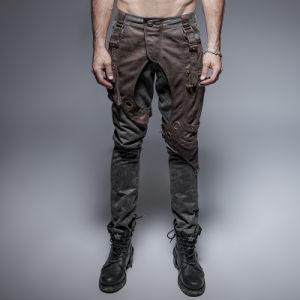 K-241 Punk Men Pocket Jean Pants Adjustable Trousers pictures & photos
