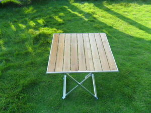 Aluminum Folding Table 50*52*67cm (etc-130-8) pictures & photos
