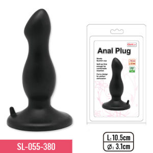 Anal Plug with Suction Cup and 3 Different Colors Sex Toy pictures & photos