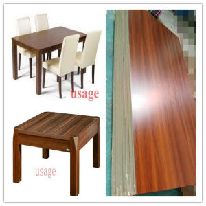 Melamine Faced MDF/Wood Grain Melamine MDF for Home Furniture pictures & photos