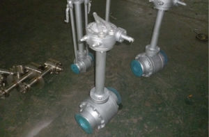 Forged Lf2 Turbine Fully Welded Ball Valve