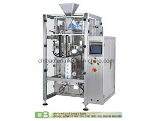 Vertical Form Fill and Seal Packing Machine for Quad Seal/Four Side Seal