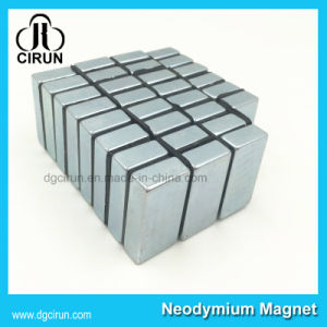 N35-N52 Strong Block Bar Rare Earth Magnet China Manufacturer