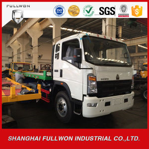 Sinotruk HOWO 5ton Flat Tray Road Wrecker / Towing Truck pictures & photos