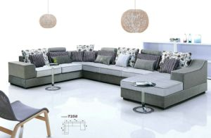 PU PVC Leather Fabric Upholstered Modern Living Room Left Right Cornor Sofa pictures & photos