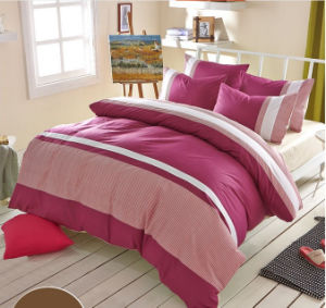 Hot Sale Simple Style Pure Cotton Bedding Sets pictures & photos