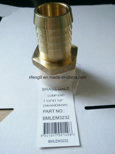 1-1/4inch Brass Male Hose Barb Adapter Fitting pictures & photos