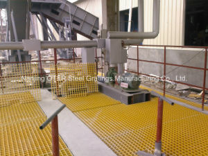 Molded FRP/Fiberglass Grating Platform pictures & photos