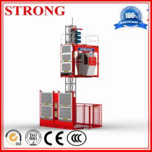 Sc200 Double Cages Electric Construction Hoist for Sale pictures & photos