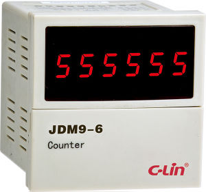 6 Digits Display Intelligent Counting Relay (JDM9-6) pictures & photos