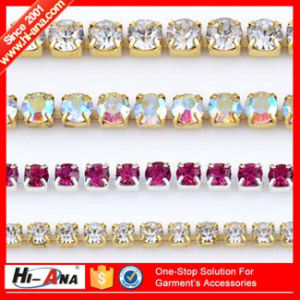 Accept OEM New Products Team Top Quality Crystal Rhinestone Trim pictures & photos