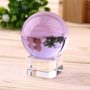 Asian Colorful Clear Magic Crystal Ball Glass Sphere pictures & photos