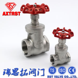 Female Thread End Gate Valve (Z11W) pictures & photos