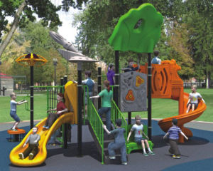 Kaiqi Small High Quality Children′s Playground - Available in Many Colours (KQ10078A) pictures & photos