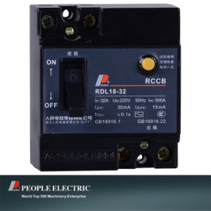 Earthleakage Circuit Breaker of Rdl18-32 2p pictures & photos