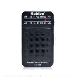 Kchibo Kk-925 Analog Am/FM Receiver Two Band Radio Portable Reception