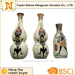 Exotic Flavor & Indian Style Ceramic Vase for Decoration pictures & photos