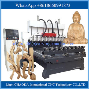 CNC 4 Axes Carving Machine / CNC 4 Axes Foam, Cylinder Wood Engraving Machine pictures & photos