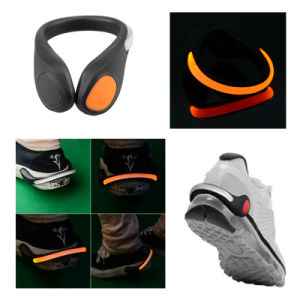 Runner Safety LED Light Shoe Heel Clip pictures & photos