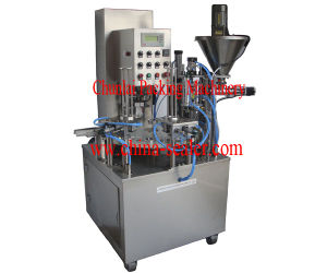 Kis-900 Rotary Type Filling -0sealing Machine pictures & photos