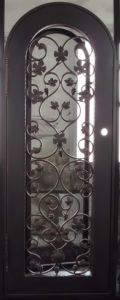 Celler Entry Door with Grape and Leaves pictures & photos