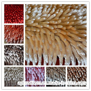 Bright Color Tufted Chenille Floor Mat Rug with Polyester pictures & photos
