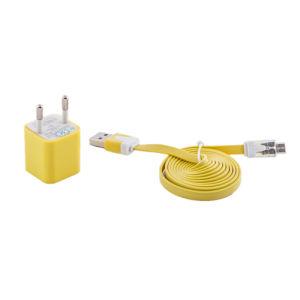 Mix Color EU Plug Single USB Travel Charger pictures & photos