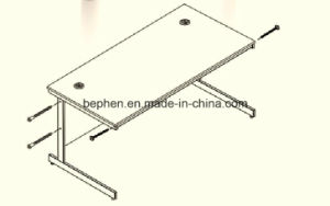 Office Table Leg Powder Coating Table Leg 1214 pictures & photos