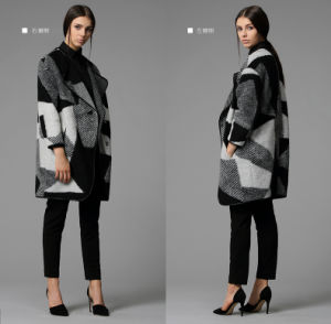 High Quality Casual Oversize Long Women Winter Coat pictures & photos