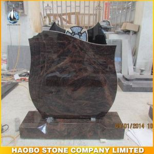 Aurora Granite Tombstone/Moument for UK pictures & photos