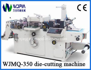 Automatic Paper Die-Cutting Machine (WJMQ350) pictures & photos