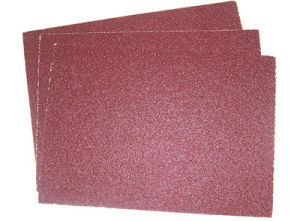 Dry & Wet Aluminium Waterproof Oxide Abrasive Paper pictures & photos