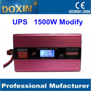 DC/AC 1500W UPS Modified sine wave Solar inverter with LCD for Solar System pictures & photos