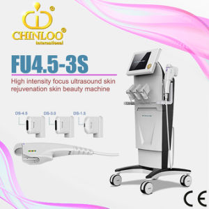 CE Approval Face Lifting for Skin Rejuvenation and Skin Tightening High Intensity Focused Untrasonic OEM Hifu Beauty Machine (FU4.5-3S) pictures & photos