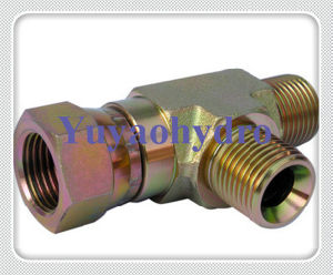 UK Hydraulic Yellow Zinc Plated Tube Fittings pictures & photos