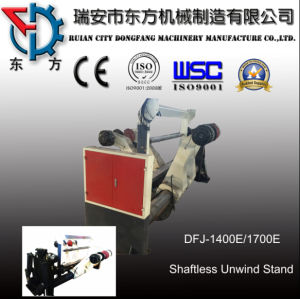 Jumbo Roll Clamp and Loading Stand for Paper Cutter pictures & photos