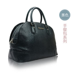 Europian Crocodile Grain Leather Styles of Handbags for Womens Collections pictures & photos