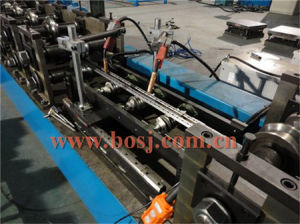Nine Fold Profile, Rittal Profile, Cabinet Rack Enclosure Frame Roll Forming Machine Korea pictures & photos