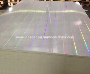 375g White Cardboard Light Laser Transparent Paper pictures & photos