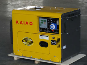 6kVA Silent Generator with Digital Panel Charming Design!